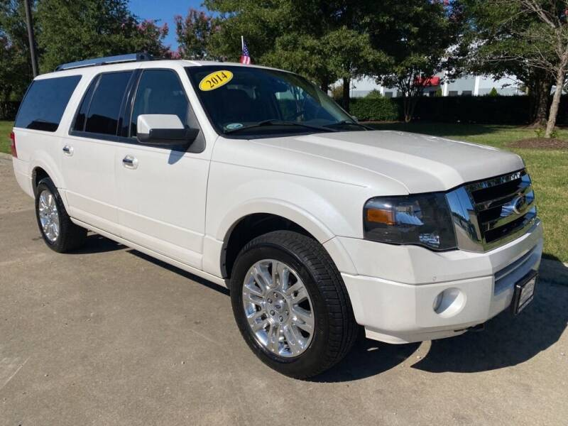 2014 Ford Expedition EL for sale at UNITED AUTO WHOLESALERS LLC in Portsmouth VA