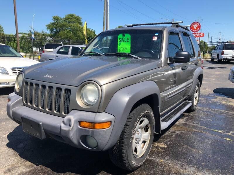 2003 Jeep Liberty for sale at RJ AUTO SALES in Detroit MI