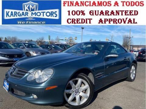 2003 Mercedes-Benz SL-Class for sale at Kargar Motors of Manassas in Manassas VA