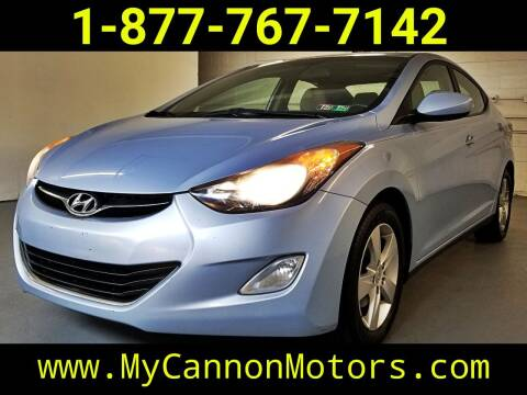 2012 Hyundai Elantra for sale at Cannon Motors in Silverdale PA