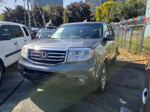 2013 Honda Pilot for sale at JOANKA AUTO SALES in Newark NJ