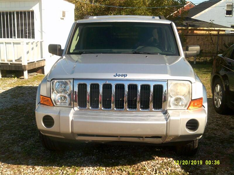 2008 Jeep Commander for sale at DONNIE ROCKET USED CARS in Detroit MI