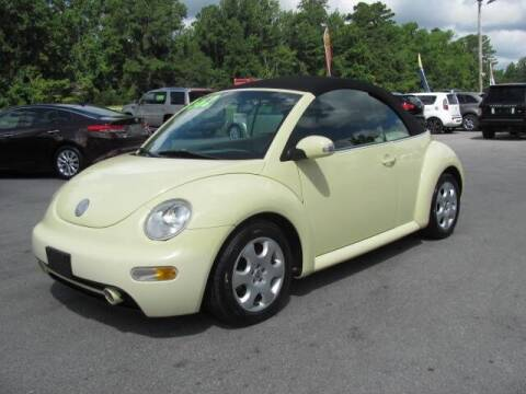 2003 Volkswagen New Beetle Convertible for sale at Pure 1 Auto in New Bern NC