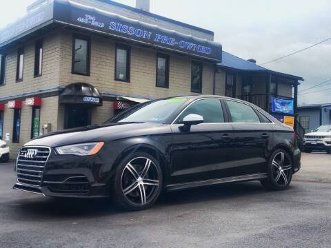 2016 Audi S3 for sale at Sisson Pre-Owned in Uniontown PA