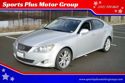 2006 Lexus IS 250 for sale at Sports Plus Motor Group LLC in Sunnyvale CA