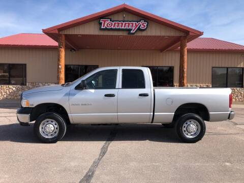 2005 Dodge Ram Pickup 2500 for sale at Tommy's Car Lot in Chadron NE