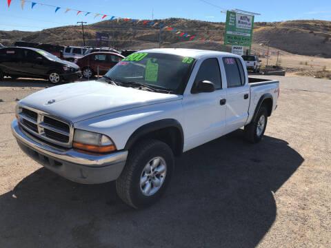 2003 Dodge Dakota for sale at Hilltop Motors in Globe AZ