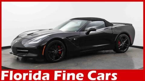 2015 Chevrolet Corvette for sale at Florida Fine Cars - West Palm Beach in West Palm Beach FL