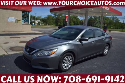 2016 Nissan Altima for sale at Your Choice Autos - Crestwood in Crestwood IL