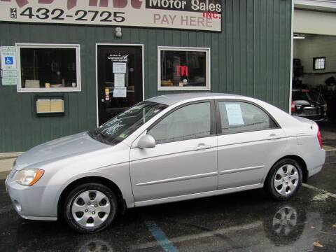 2006 Kia Spectra for sale at R's First Motor Sales Inc in Cambridge OH