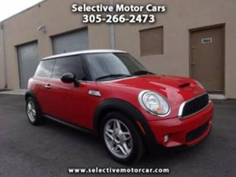 2010 MINI Cooper for sale at Selective Motor Cars in Miami FL