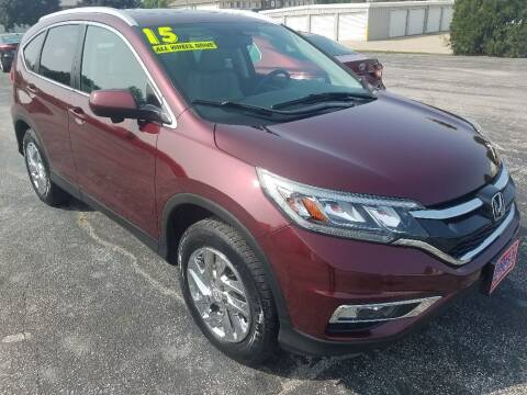 2015 Honda CR-V for sale at Cooley Auto Sales in North Liberty IA