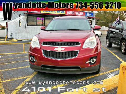 2011 Chevrolet Equinox for sale at Wyandotte Motors in Wyandotte MI