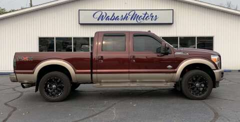 2011 Ford F-250 Super Duty for sale at Wabash Motors in Terre Haute IN