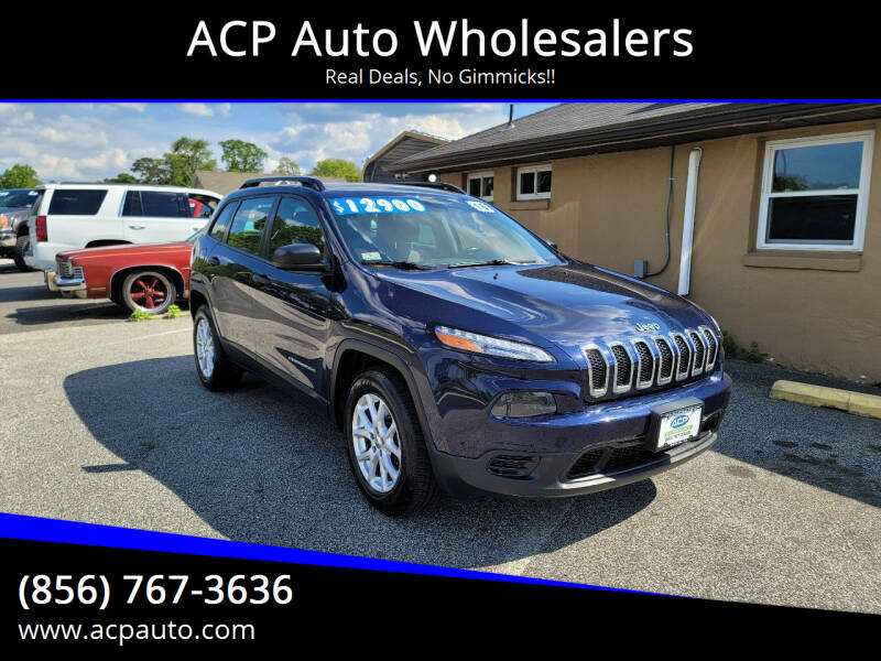 2015 Jeep Cherokee for sale at ACP Auto Wholesalers in Berlin NJ