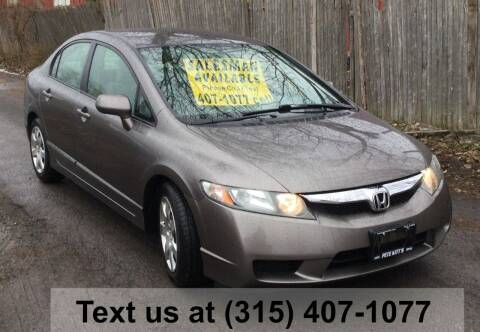 2009 Honda Civic for sale at Pete Kitt's Automotive Sales & Service in Camillus NY