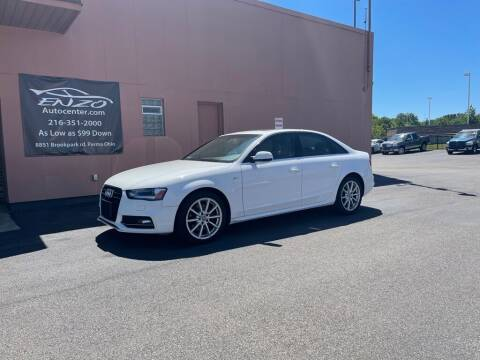 2016 Audi A4 for sale at ENZO AUTO in Parma OH
