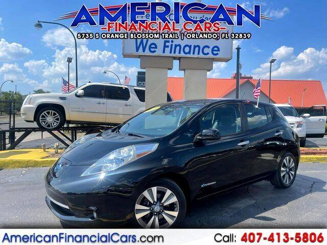 2013 Nissan LEAF for sale at American Financial Cars in Orlando FL
