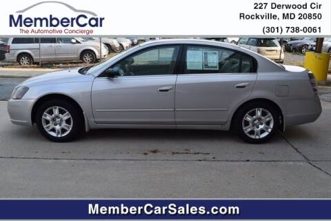 2005 Nissan Altima for sale at MemberCar in Rockville MD