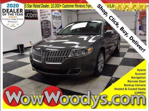2012 Lincoln MKZ Hybrid for sale at WOODY'S AUTOMOTIVE GROUP in Chillicothe MO