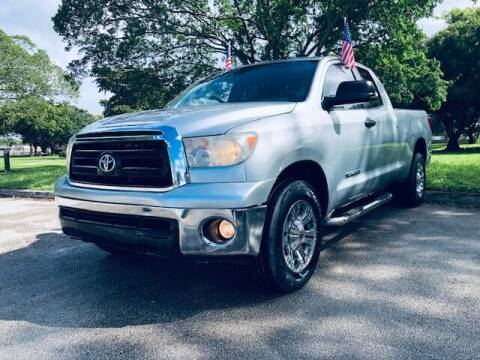 2010 Toyota Tundra for sale at Venmotors LLC in Hollywood FL