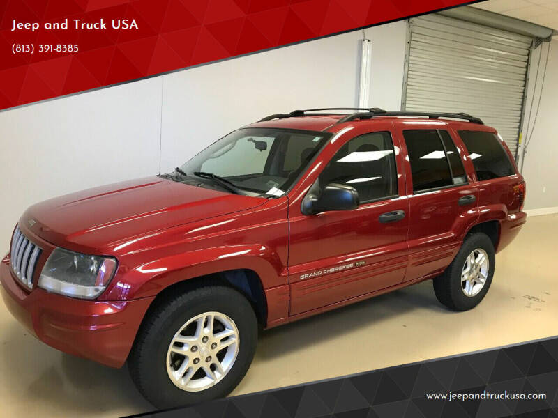 2004 Jeep Grand Cherokee for sale at Jeep and Truck USA in Tampa FL