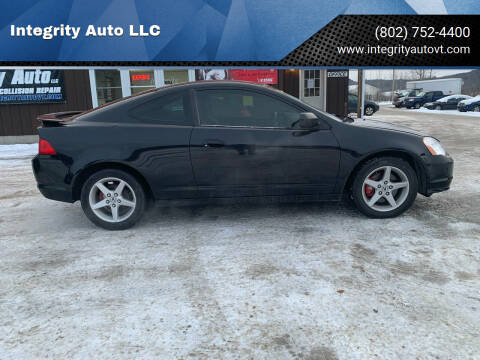 2004 Acura RSX for sale at Integrity Auto LLC in Sheldon VT