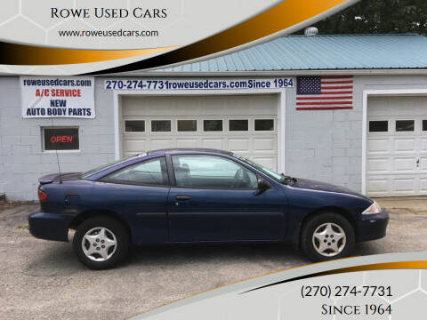 2000 Chevrolet Cavalier for sale at Rowe Used Cars in Beaver Dam KY