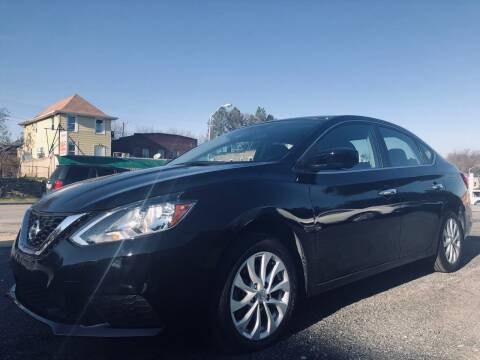 2018 Nissan Sentra for sale at Trimax Auto Group in Baltimore MD