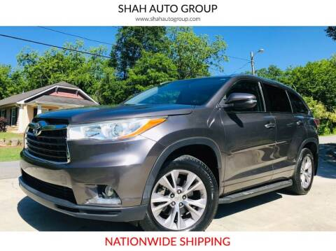 2014 Toyota Highlander for sale at E-Z Auto Finance - E-Biz Auto in Marietta GA