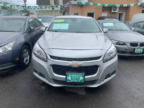 2014 Chevrolet Malibu for sale at Park Avenue Auto Lot Inc in Linden NJ