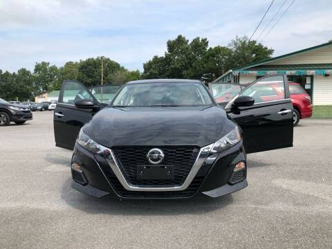 2019 Nissan Altima for sale at Morristown Auto Sales in Morristown TN
