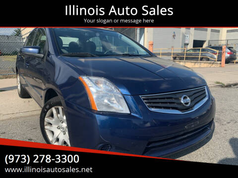 2012 Nissan Sentra for sale at Illinois Auto Sales in Paterson NJ
