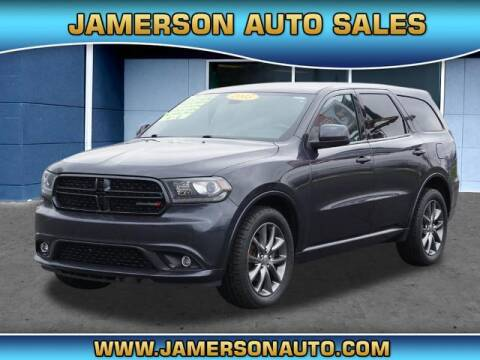 2015 Dodge Durango for sale at Jamerson Auto Sales in Anderson IN