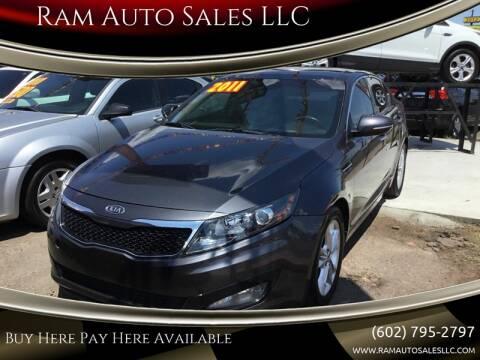 2011 Kia Optima for sale at Ram Auto Sales LLC in Phoenix AZ
