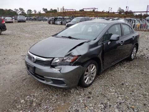 2012 Honda Civic for sale at S & M IMPORT AUTO in Omaha NE