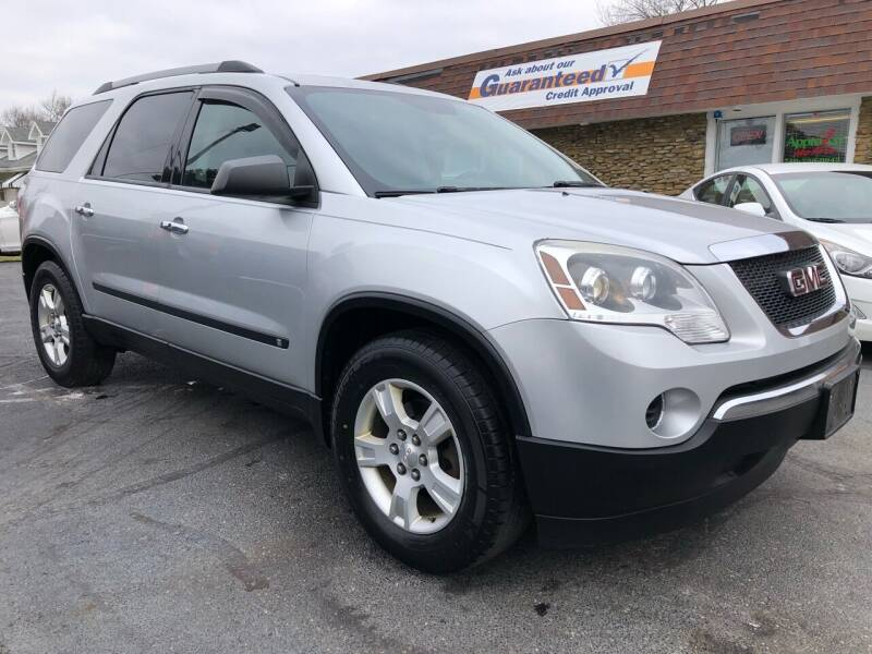 2010 GMC Acadia for sale at Approved Motors in Dillonvale OH