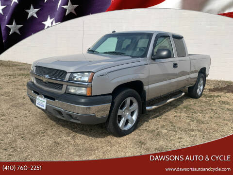 2004 Chevrolet Silverado 1500 for sale at Dawsons Auto & Cycle in Glen Burnie MD