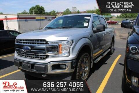 2018 Ford F-150 for sale at Dave Sinclair Chrysler Dodge Jeep Ram in Pacific MO