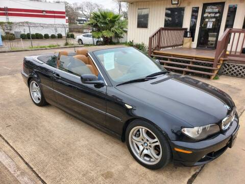 2006 BMW 3 Series for sale at Zora Motors in Houston TX