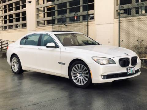 2012 BMW 7 Series for sale at LANCASTER AUTO GROUP in Portland OR