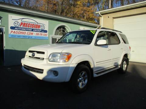 2007 Toyota Sequoia for sale at Precision Automotive Group in Youngstown OH
