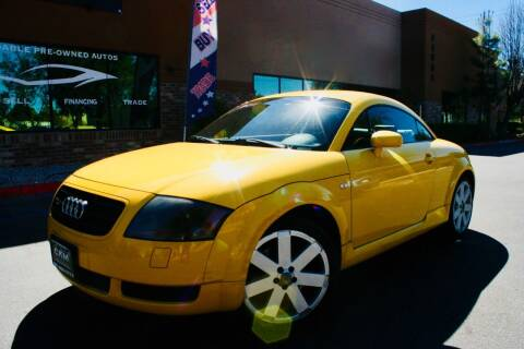 2003 Audi TT for sale at CK Motors in Murrieta CA