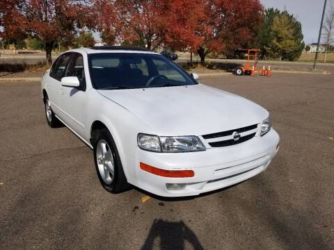 1997 Nissan Maxima for sale at Red Rock's Autos in Denver CO