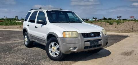 2001 Ford Escape for sale at BAC Motors in Weslaco TX
