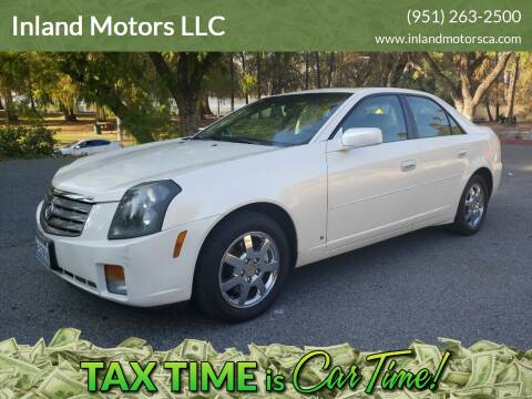 2006 Cadillac CTS for sale at Inland Motors LLC in Riverside CA