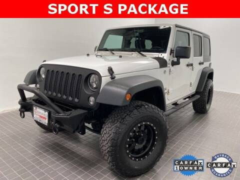 2015 Jeep Wrangler Unlimited for sale at CERTIFIED AUTOPLEX INC in Dallas TX