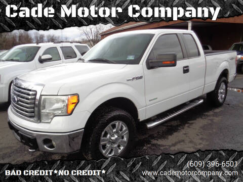 2011 Ford F-150 for sale at Cade Motor Company in Lawrenceville NJ