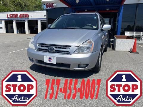 2008 Kia Sedona for sale at 1 Stop Auto in Norfolk VA