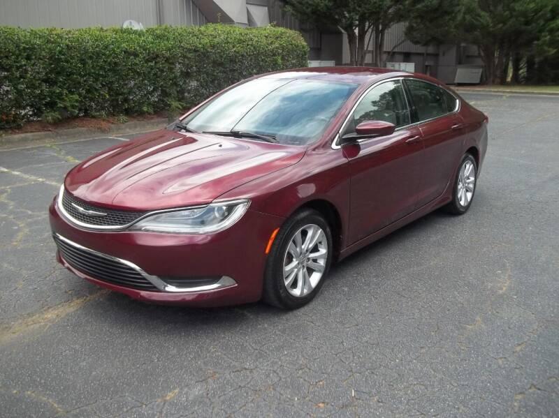 2015 Chrysler 200 for sale at Key Auto Center in Marietta GA